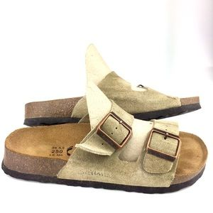 Betula by Birkenstock Tan Sandals 39/L8